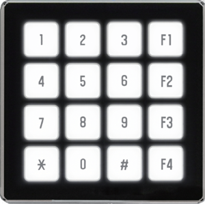 FLETAS | Capacitive Touch Switch 4x4 Keypad | TKU016CT-A100